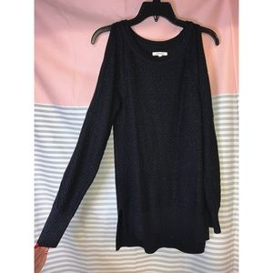 Maurices Cold Shoulder Sweater